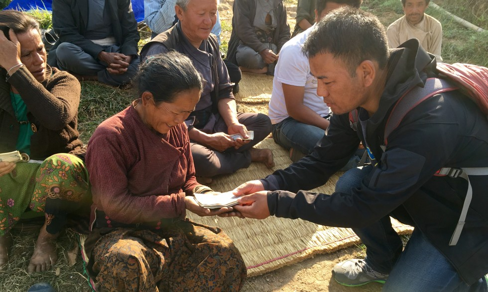 The BNT Team Undertakes Earthquake Relief Projects in Nepal