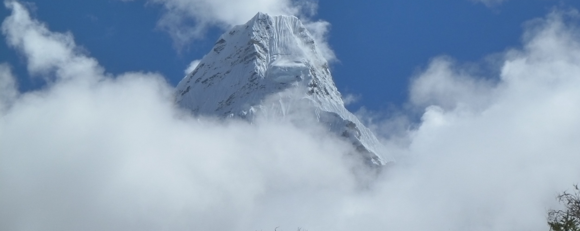 Amadablam mountain view