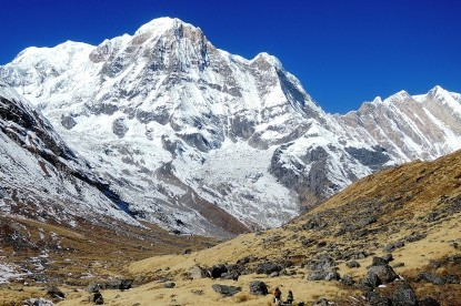The view of Annapurna south(7200m)