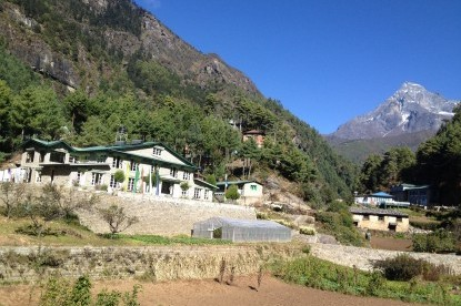 Monjo village, where it starts the Sagarmatha national park, Nepal