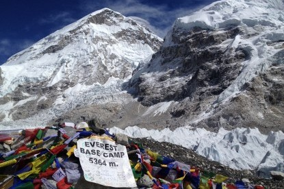 Everest Base Camp which is the ultimate destination for all trekkers.