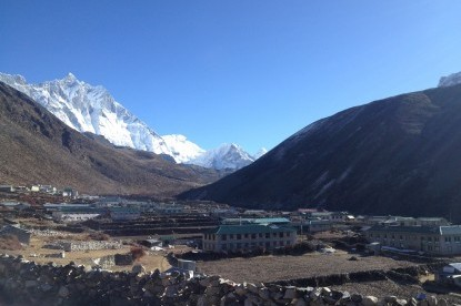 Dingboche, the highest settlement of Khumbu region
