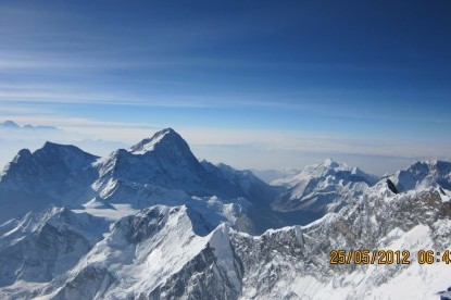 The view of Makalu from southcol