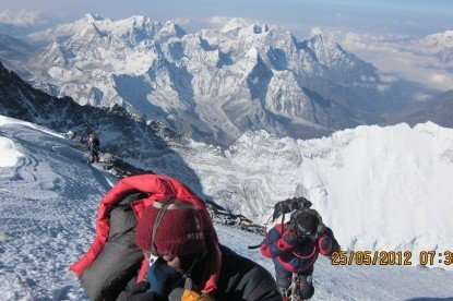 Summit day to top of Everest