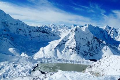 Imja glacier lake...