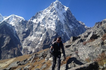 Heading up to Lobuche peak high camp.