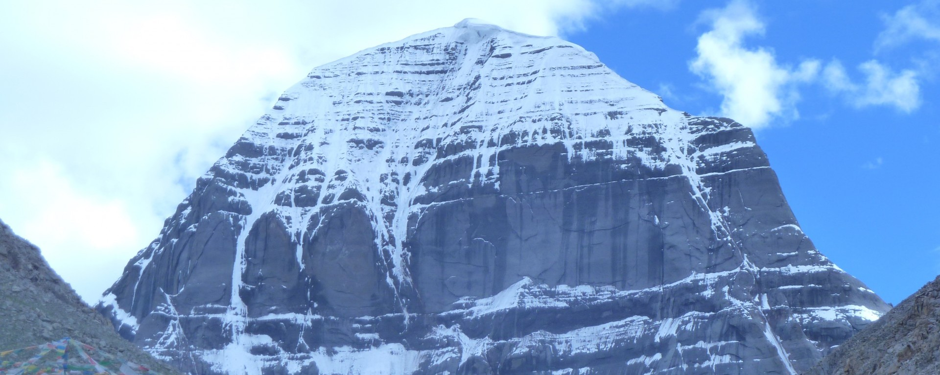 Mt. Kailash from the north side.