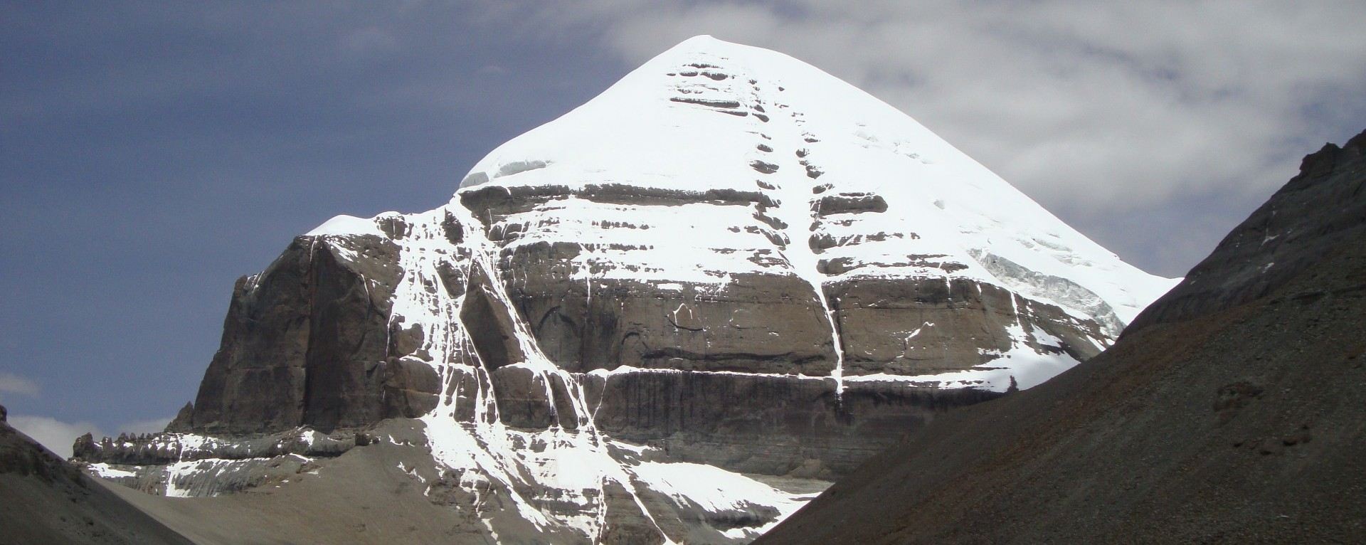 Mt. Kailash from the south side.