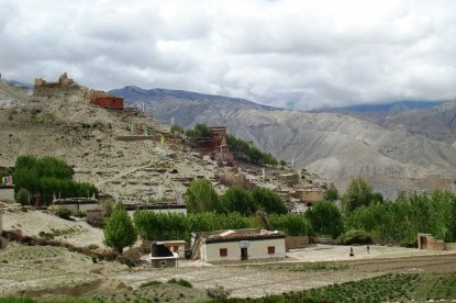 Geling village of Mustang.