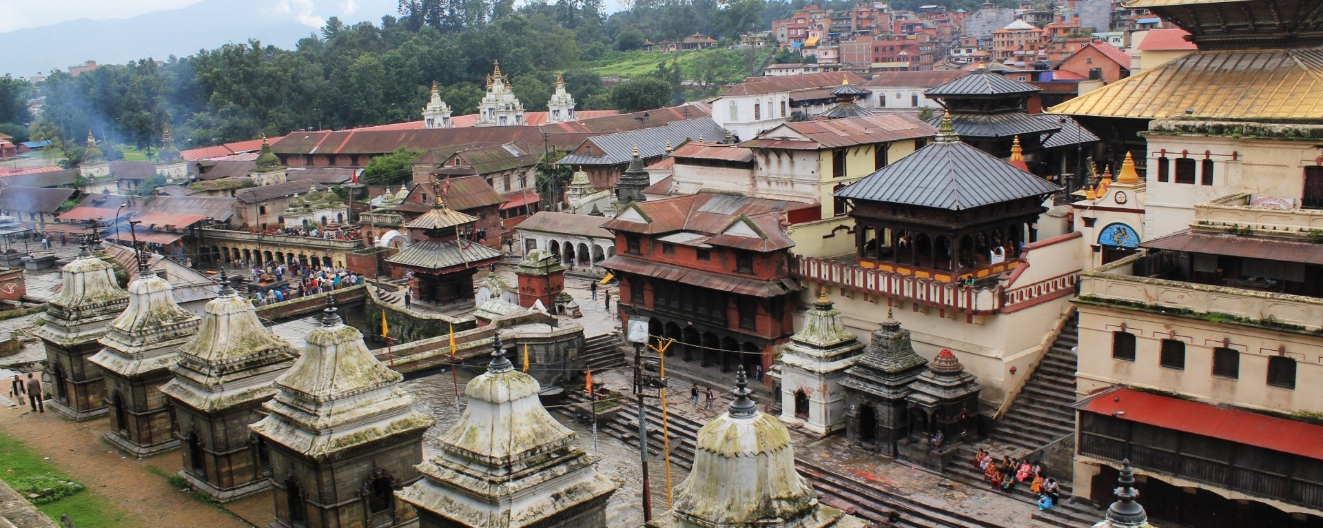 Holiest Hindu Shrine of Pashupatinath.