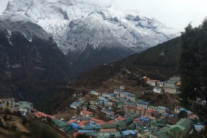 Namche bazaar(3445m)
