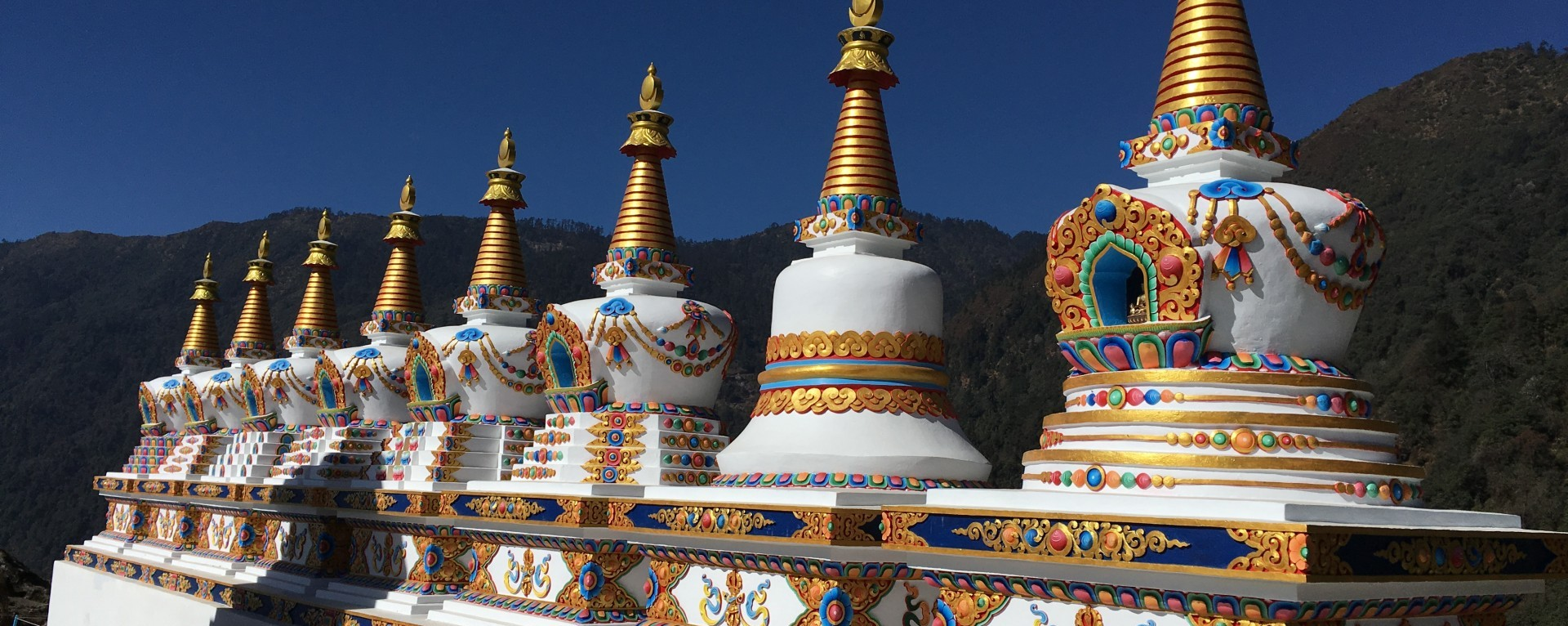 The Stupa at the Buddhist monastery in Solukhumbu.