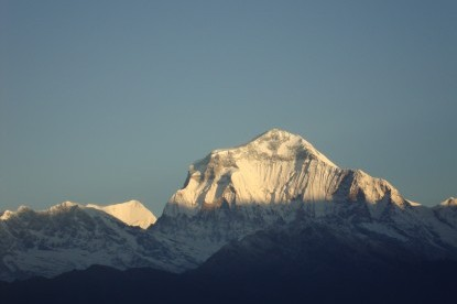 Sunriise view over Mt. Dhaulagiri (8167m)