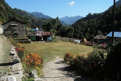 The garden at lodges near Tikhedu