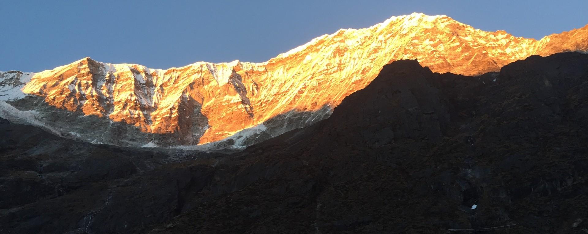 view of Chekigo & Bamongo peak.