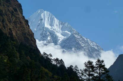 Mt. Chekigo in Rolwaling valley.