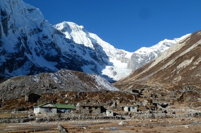 Thengba village after Tashi lapcha pass.