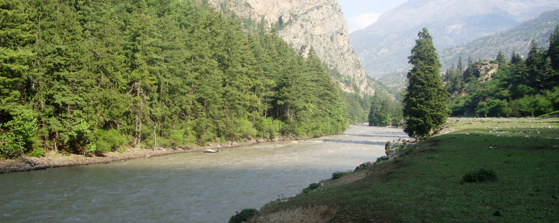 The Karnali river valley