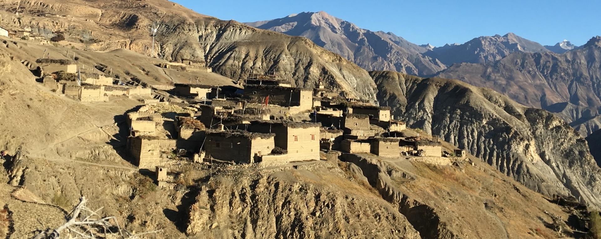 The village of Saldang, Upper Dolpo, Nepal